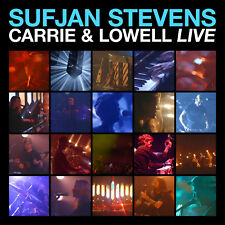 Sufjan Stevens Carrie and Lowell Live BLUE VINYL LP Record & MP3 bonus songs NEW