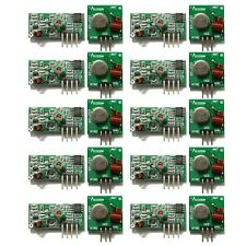 10x 315Mhz RF Transmitter Module and Receiver Link Kit for Arduino ARM MCU WL