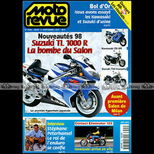 MOTO REVUE N°3294 STEPHANE PETERHANSEL HONDA 90 SHADOW KAWASAKI 125 ELIMINATOR