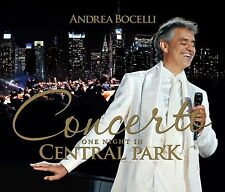 ANDREA BOCELLI - CONCERTO  One night in Central Park  - CD NUOVO