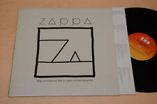 ZAPPA LP SHIP ARRIVING...1°ST ORIG 1982+INNER TESTI AUDIOFILI EX++