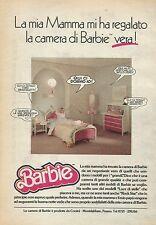 X1058 BARBIE - La camera vera! - Mattel - Pubblicità 1988 - Advertising