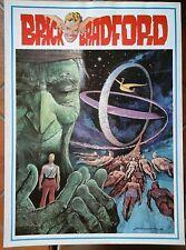 BRICK BRADFORD tavole domenicali a colori collana gertie daily 140 comic art