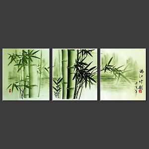 BAMBOO FOREST CANVAS WALL ART PICTURE PRINT VARIETY OF SIZES FREE UK P&P