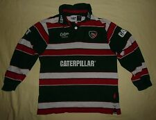 Leicester Tigers / 2011-2012 Home - Cotton Traders - JUNIOR Jersey / Shirt. LB