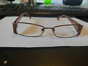 NEW MICHAEL KORS MK307 210 in Brown 51-16-135 Frames Flex Hinges Authentic