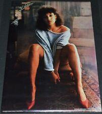 FLASHDANCE 1983 ORIGINAL 20x28 SUPER SEXY JENNIFER BEALS PINUP POSTER!