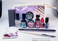 Mía secret kit-01 PR clear & Pink acrylic powder /three nail files free