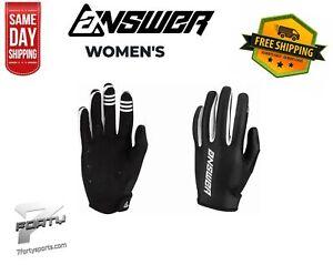 Answer ASCENT GLOVE WOMEN'S MX Motocross Off Road Dirt Bike ATV/UTV