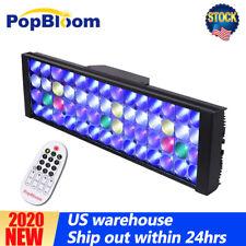 PopBloom Marine LED Aquarium Light Aquarium Led Lighting Reef Coral Fish Tank