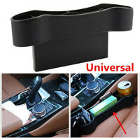 1Pcs ABS Black Universal Car Seat Crevice Gaps Storage Box Organizer Cup Holder