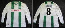 FC Groningen #8  home LONG SLEEVE jersey shirt Klupp 2013-14 adult SIZE (XL) L