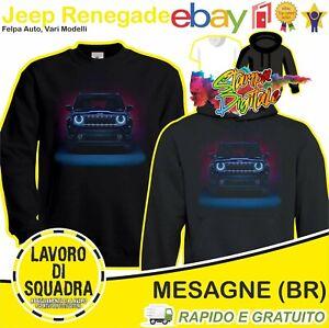 Felpa Jeep Renegade - Limited Auto Car Italian Italy FCA Idea Regalo Automobile