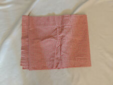 """Country Curtains Red Gingham Window Valance 15"""" x 78"""""""