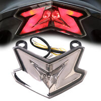 Integrated LED Turn Signal Tail Light For Kawasaki ZX6R 636 Z800 Z125 Pro 13-17