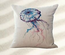 jellyfish marine ocean cushion cover washable throw pillow covers pillow covers