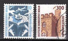 Germany / Berlin - 1988 Definitives views - Mi. 798-99 VFU
