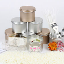 16Pcs Scented Candles Tin Set Empty DIY Tealight Cups Home Decor Candle Jars