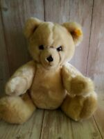 Steiff Petsy Teddy Bear Full Jointed Woven Blond 15""