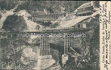 BRAZIL RAILWAYS GROTA FUNDA LINHA DE SANTOS A S. PAULO LAEMMERT E C 14