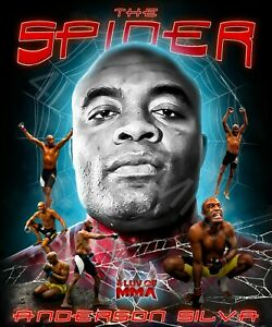 Anderson Spider Silva 4LUVofMMA Poster new MMA wall art