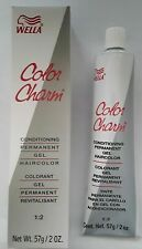 Wella Color Charm Permanent Gel Hair Color 2 oz 725 Sunlight blonde Brown