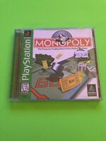 🔥 PS1 PlayStation 1 PSX GAME 💯 COMPLETE WORKING GAME 🔥 MONOPOLY 🔥