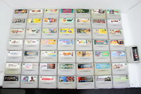 Lot of 50 Nintendo SNES Games Authentic SFC Japanese NTSC-J Tested! Mario #3698