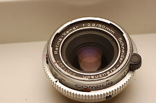 Schneider Retina-Xenar 50mm f2.8 Lens DKL Mount sharp and colorful #6183