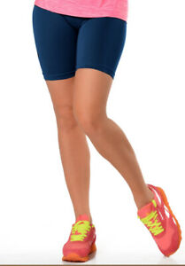 Sentelegri Cotton Leggings 1/2 half length shorts active sports gym cycling danc