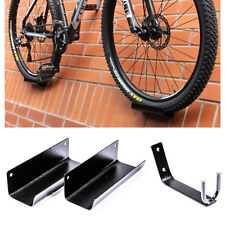 Bike Rack Pedal Hook Wall Mount Hanger Wheel Holder Display Storage Brackets MTB