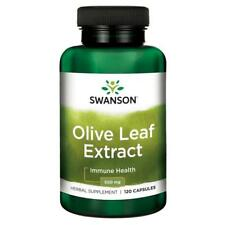 Swanson Olive Leaf Extract 500mg | 120 Capsules | UK Seller | FAST and FREE P&P