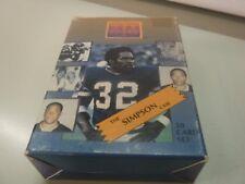 The O.J. Simpson Case 1994 Trading Card Set 090117jh