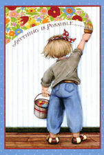 Mary Engelbreit-Two Anything Is Possible Magic Paint Postcards-New!