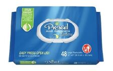 "Prevail Washcloth Wipe, 8""x12"", Vitamin E/Aloe, 96 Pack, WW-720 - Case of 576"