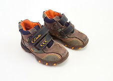 Clarks - Child boots (blue and orange) – Size UK 7F