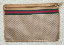 Unisex Large Vintage Gucci Portfolio Case Document Holder