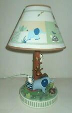 2006 Kidsline Zanzibar Jungle Safari Kids Room Nursery Table Lamp