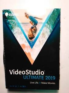 Corel VideoStudio Ultimate 2019 Retail Full Version for Windows New Sealed
