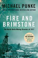 Fire and Brimstone: The North Butte Mining Disaster of 1917, Punke, Michael, New