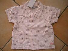 (106) Imps & Elfs Baby Sweatjacke kurzer Arm mit Tasche und Logo Aufnäher gr.68