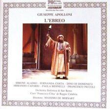 Massimo de Bernart - L'ebreo, Giuseppe Apolloni - (Doppel-CD)
