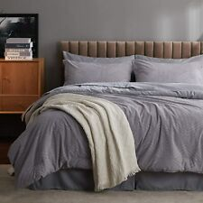Bedsure Queen Comforter Set, 8 Pieces Jacquard Bed in a Bag Bed Set with Comfort