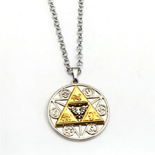 Game The Legend of Zelda Link Metal Pendant Necklace Cosplay Chain