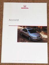 1998 HONDA ACCORD Sales Brochure - 2.0i 1.8i ES LS S - Mint Condition