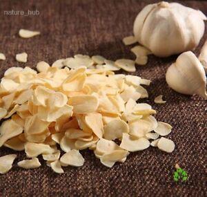 Dehydrated Dried GARLIC SLICES 100% Natural Organic Ceylon Spice Allium sativum