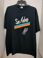 San Antonio Spurs Black Shirt Kickapoo Lucky Eagle Casino-Hotel Size XL X-Large