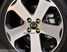OEM KIA Logo Wheel Caps Center Hub Cap Set 4pcs for KIA Vehicle Models