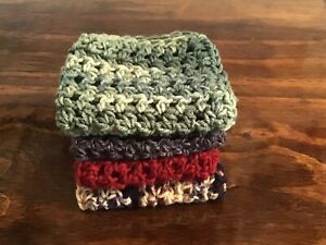 Dishcloths Crochet Handmade