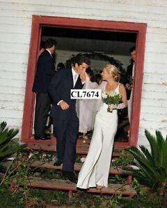 John F. Kennedy Jr. and Carolyn Bessette at Their Wedding in Cumberland Island